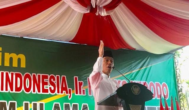 Jokowi: Rugi Jika Mengorbankan Kerukunan Gara-Gara Pemilu