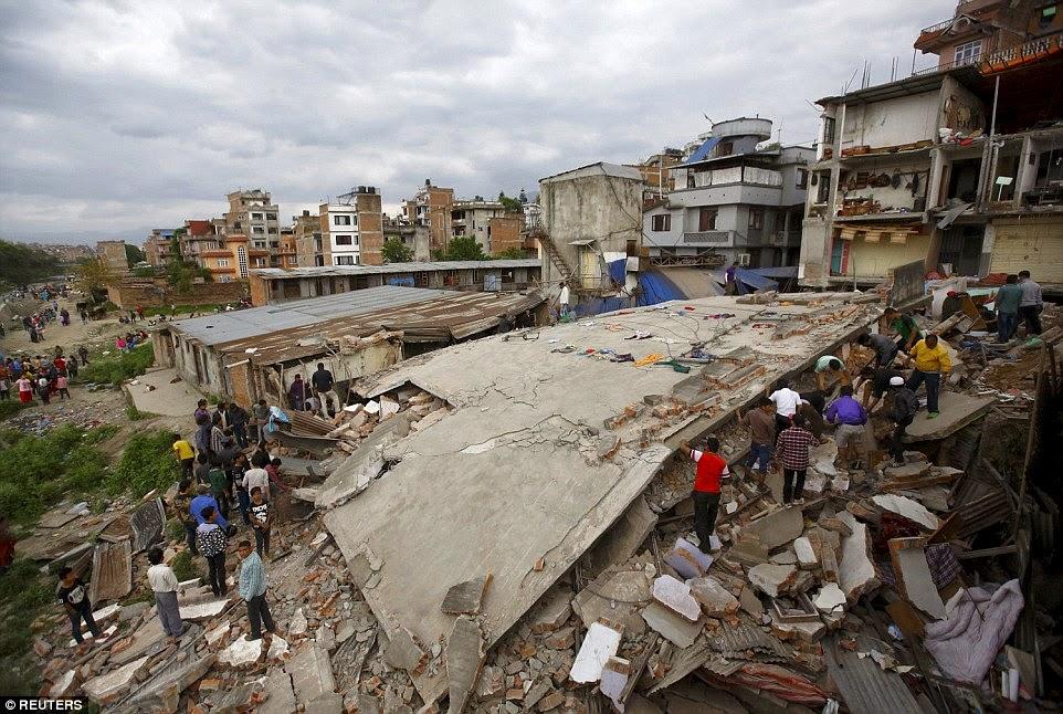 Razorni potres u Nepalu,više od 1000 mrtvih.
