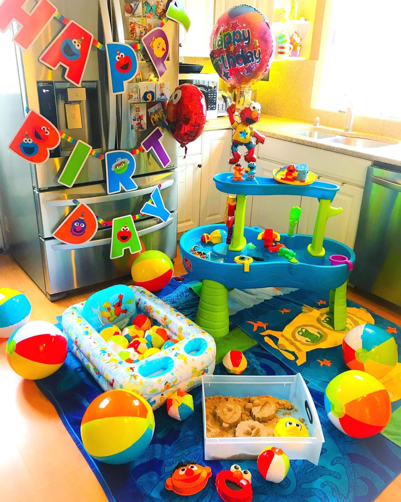 doo-dah!: An Indoor Beach Party For Elmo's Birthday