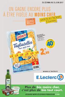 Le catalogue E.leclerc 23 Mai au 03 Juin 2017