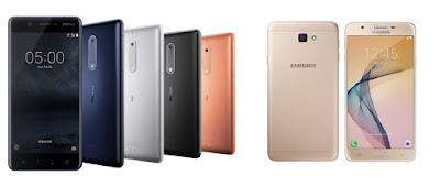 Nokia 5 vs Samsung Galaxy J7 Prime