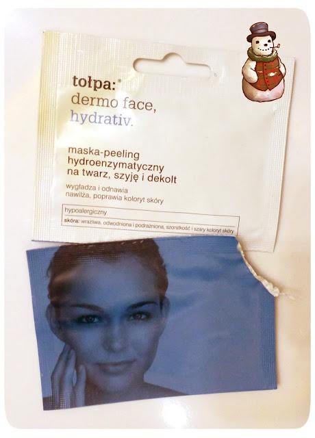 Testuję z Maliną: Maska Tołpa z peelingiem enzymatycznym, nawilżająca