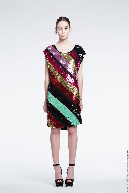 Vestidos cortos de gala de moda