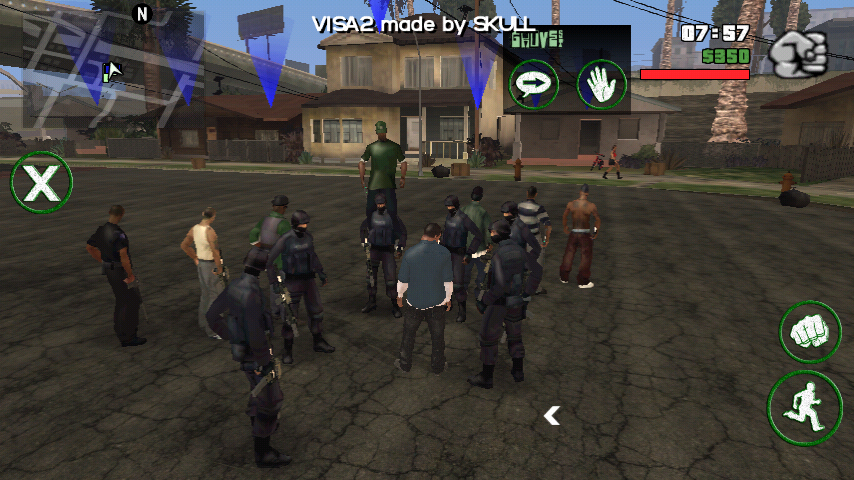 GTA 5 Visa 2 mods in android GTA San Andreas ~ Game OF Play
