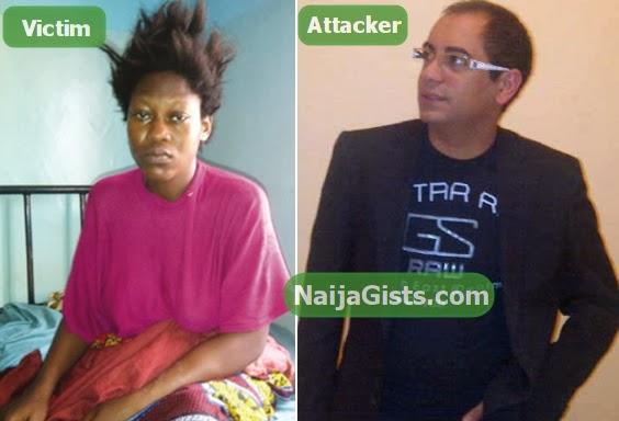 lebanese boss kicked pregnant woman