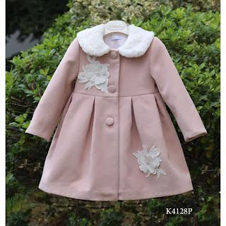 baptismal coat for girls in pink color
