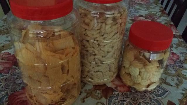 homemade 'Kuih Raya'