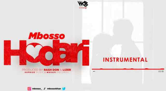 Download Mp3 | Mbosso - Hodari (Instrumental)