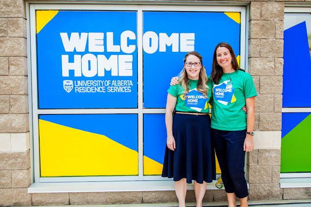 Preparing for Move-In Day at the University of Alberta