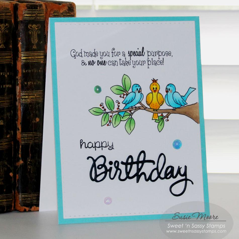 Sweet 'n Sassy Stamps: Happy Birthday
