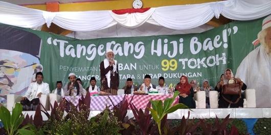 Pilgub DKI Dukung Sandi, Pilpres 2019 Ulama Banten Ini Dukung Jokowi-Ma'ruf