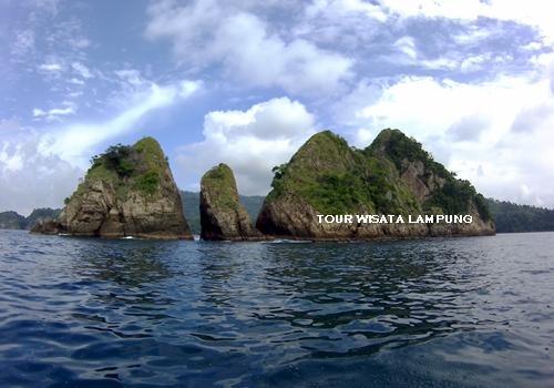 pulau wayang destinasi tour wisata lampung