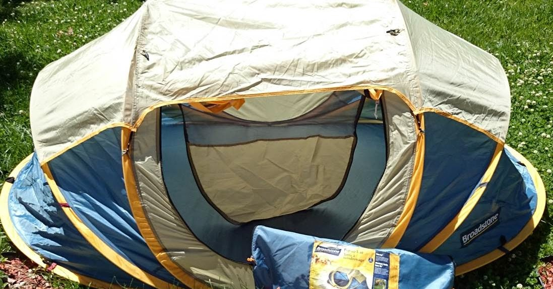 huge discount 6d85c 751dd Real Man Tested: Broadstone Pop-Up Tent ~ Real Man Travels