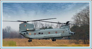In just four years, Chinook helicopter has arrived in India
