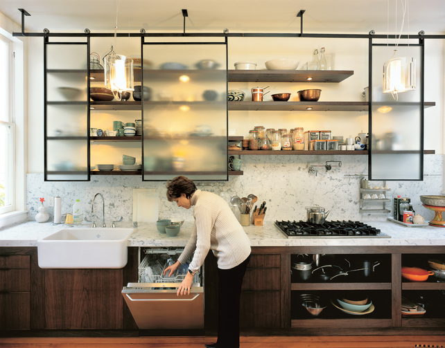 Metal Frame Kitchen Cabinets - Home Decorating Ideas & Interior Design
