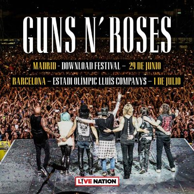 Touring Guns N Roses Add European Dates For 2018 Vvn Music