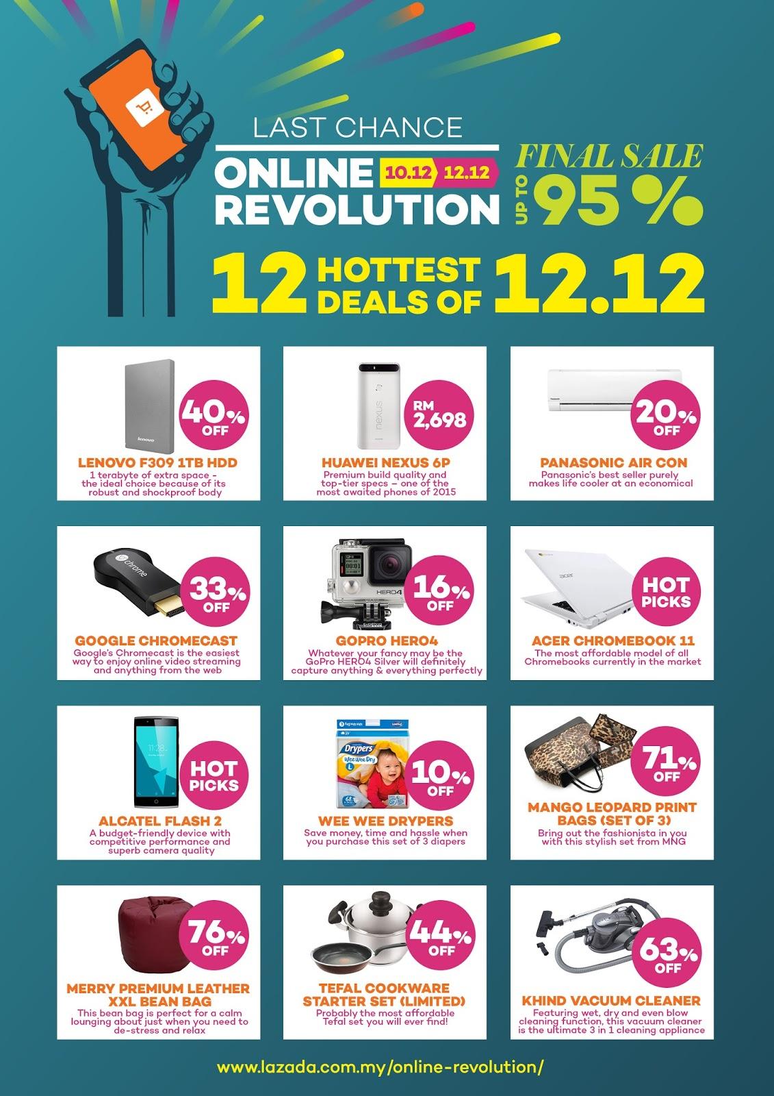 Flash Sales Lazada Malaysia 2015