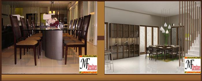 Custom Setting Interior Furniture Dinning Room