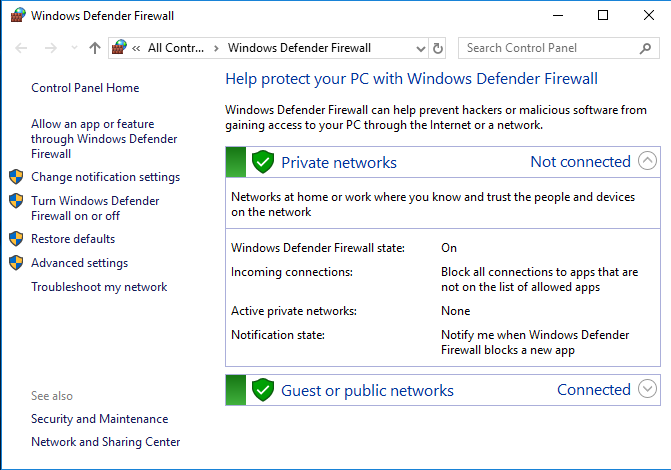 Windows Firewall Post Exploitation with Netsh