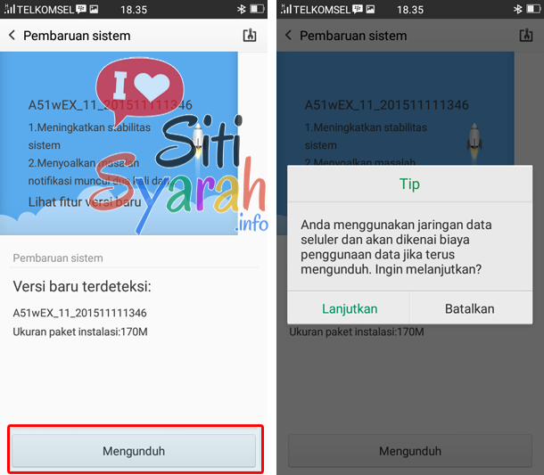 upgrade android oppo