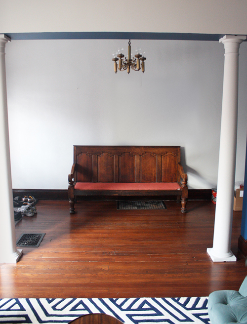 Foyer Table Craigslist : Now we can put on our shoes how about orange