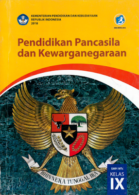 download buku siswa PPKN kelas 9 revisi 2018