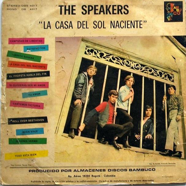Cosas mias the speakers la casa del sol naciente - La casa del sol ...
