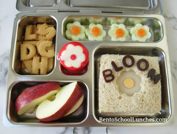 Flowers bento lunch