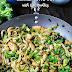 Chicken Stir-Fry with Rice Noodles + VIDEO