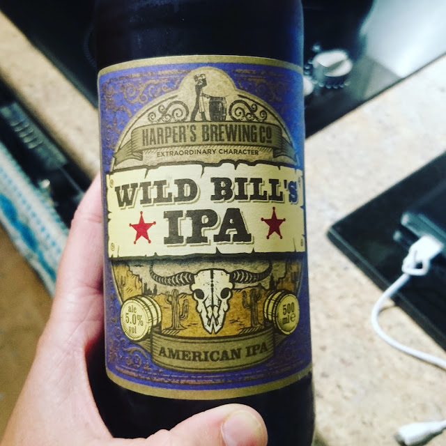 Staffordshire Craft Beer Review: Wild Bill IPA from Harper's Brewing Co. real ale