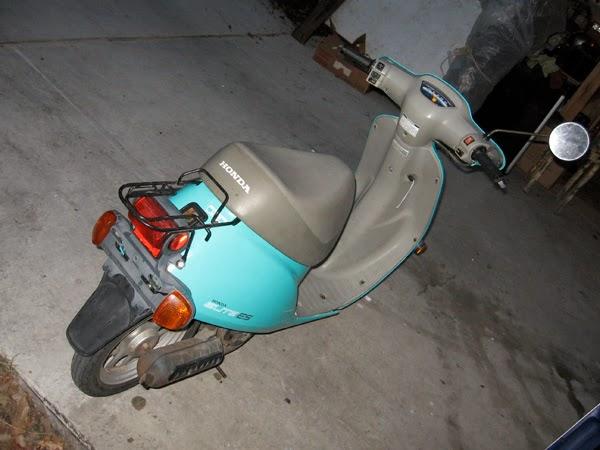 1985 honda spree motor swap for Redline motors garden city ks