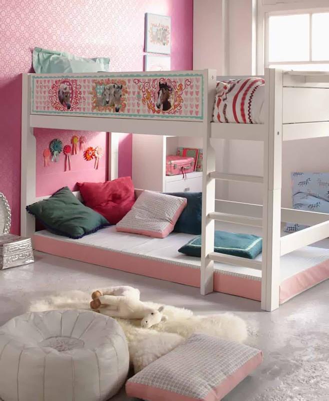 Decorar una habitaci n infantil peque a dormitorios con for Decorar habitacion infantil pequena