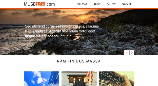 Free Website Muse Design