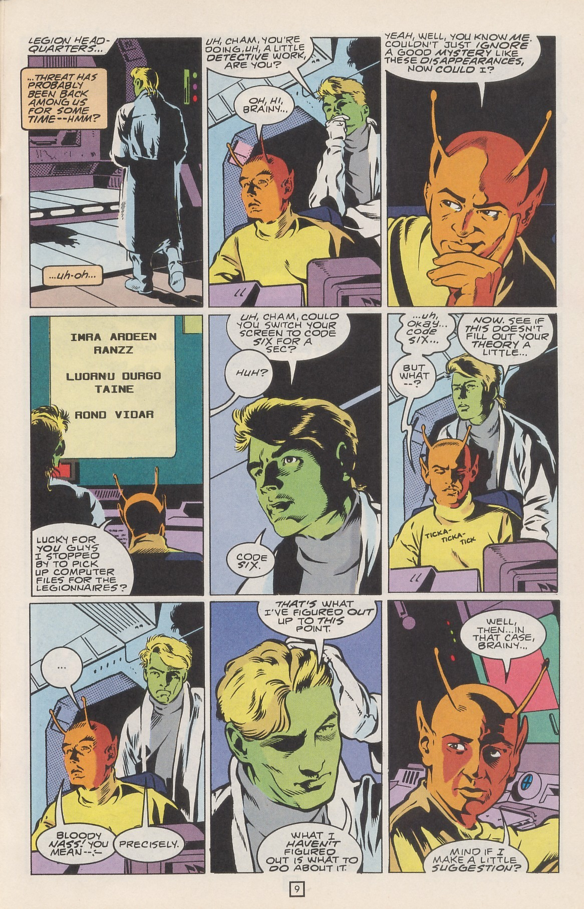 Legion of Super-Heroes (1989) 42 Page 12