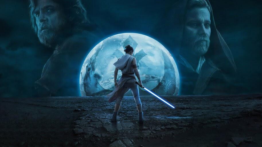 Star Wars The Rise Of Skywalker Rey 4k Wallpaper 7577