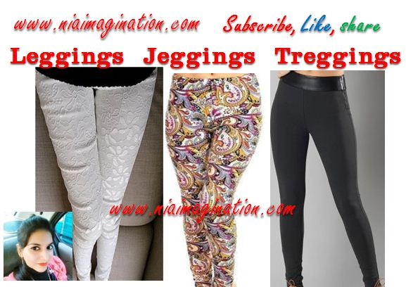 Difference tregging jegging