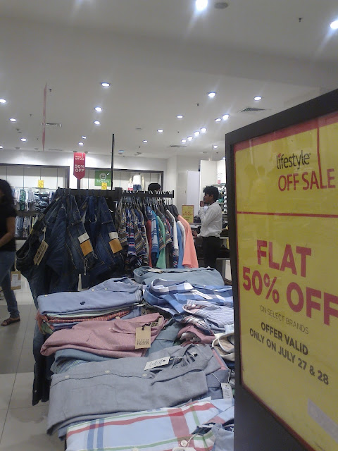 Sale Shopping at Lifestyle Store