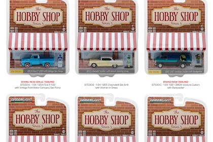 Greenlight Hobby Shop Series 3