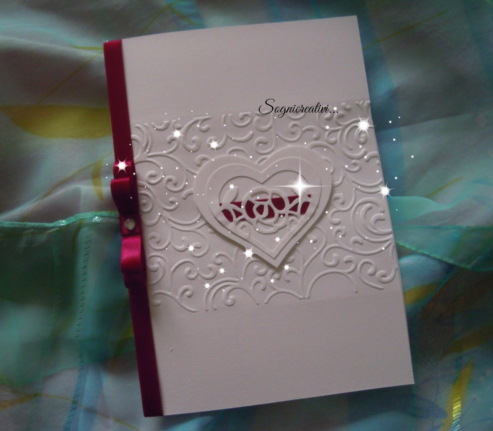 Eccezionale Partecipazioni Sognicreativi Wedding and Events: Partecipazione  KC09