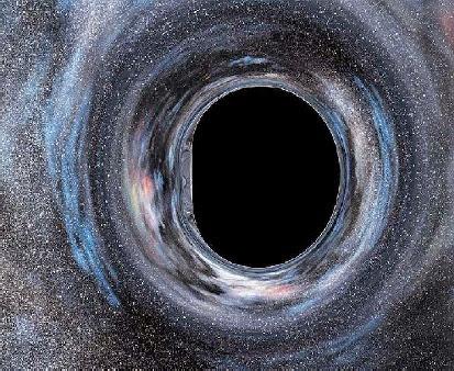 Черная дыра из интерстеллар