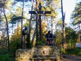 Страдч. Пещерный монастырь XI-XIII веков. Крестная дорога
