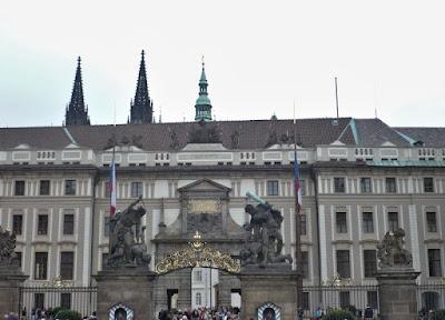 Entrata al Castello di Praga
