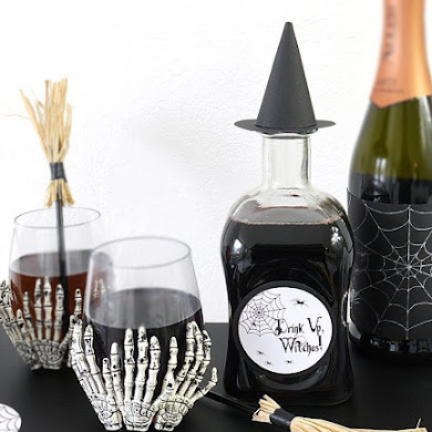 Quick & Easy Halloween Party Crafts with Free Printables