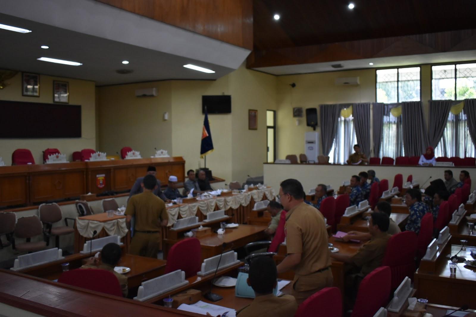 Soal Penyelewengan Dana Desa Sukananti, Dewan Rekomendasikan Ke Penegak Hukum