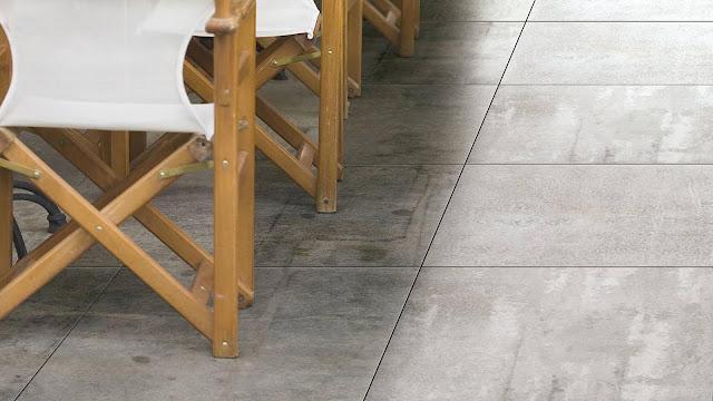 Comfort room tiles design ideas of Concrete series