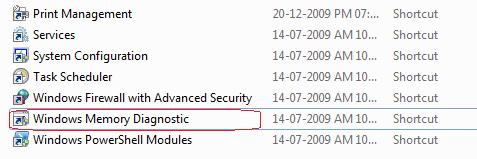 Windows Diagnostic tool