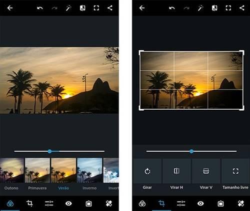 Photoshop Express: editor rápido para fotos