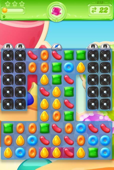 Candy Crush Jelly Saga saga 215