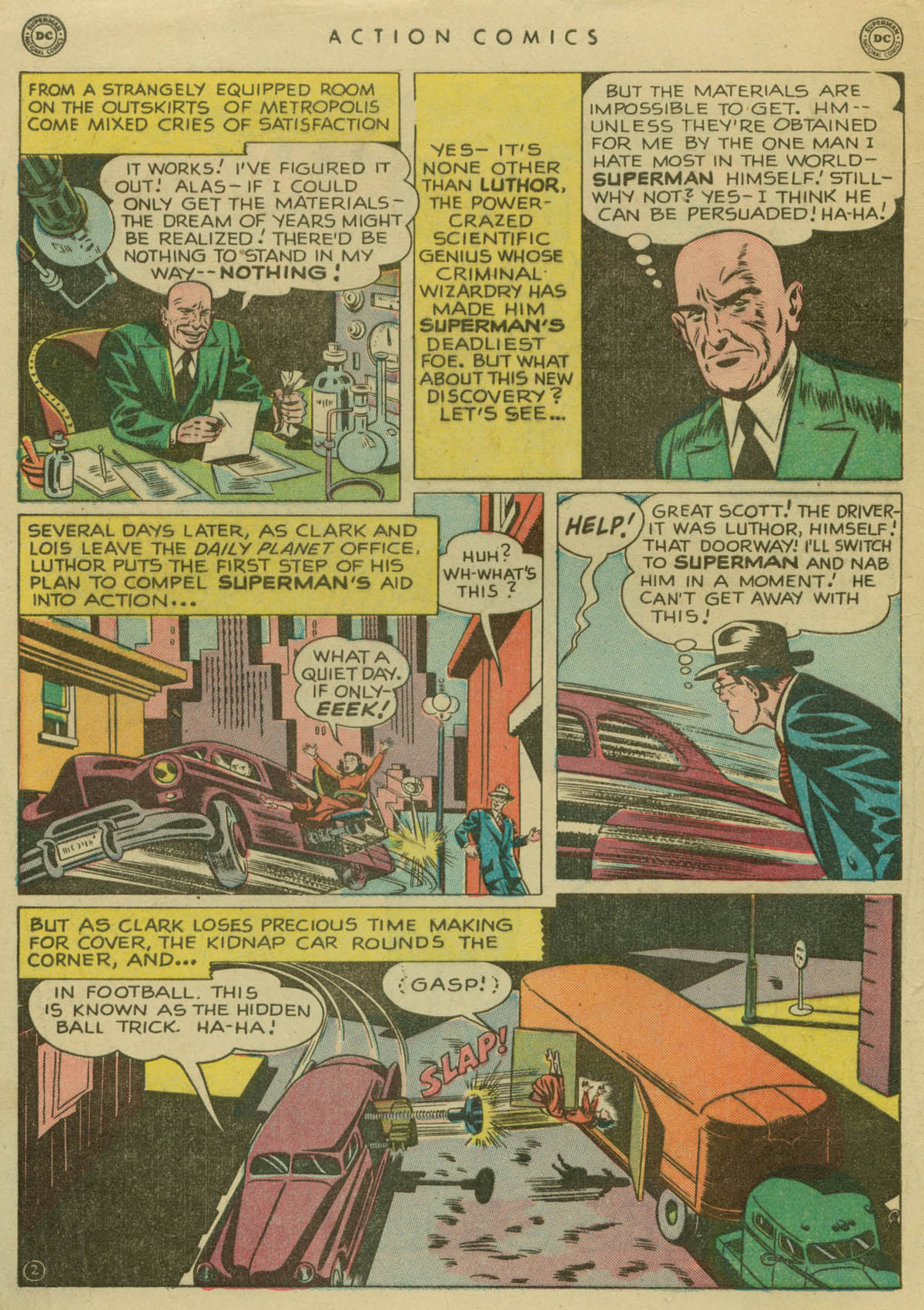 Read online Action Comics (1938) comic -  Issue #141 - 3