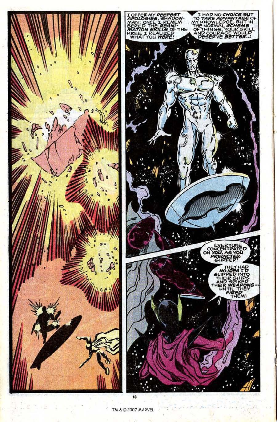 Read online Silver Surfer (1987) comic -  Issue #30 - 20